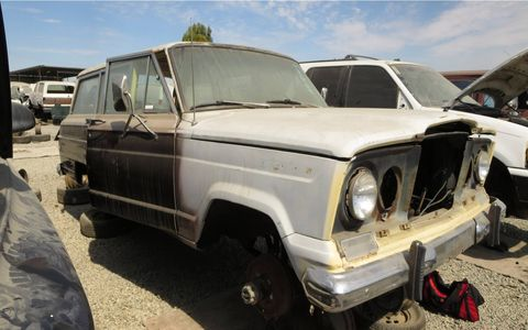 This truck was built just before American Motors bought the Kaiser Jeep Corp.
