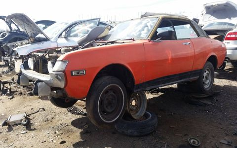 These sporty-looking econo-commuters rusted quickly and have been a rare junkyard sight for at least the last quarter-century.