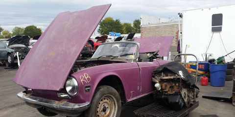It's purple and it's not particularly rusty. What's not to like?