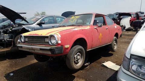 1978 Dodge Colt in Denver wrecking yard
