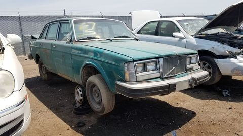 Volvo 240s are still numerous on America's streets today, but the 1970s versions are hard to find.