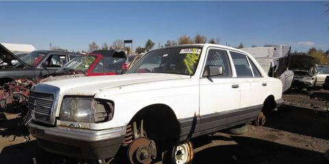 Americans could buy a new W126 in 1980, but had to go gray-market for the 280 SEL version.