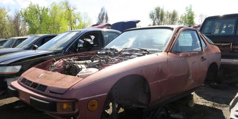 The non-turbocharged 924s were underpowered, but the 924 Turbo got a much-needed 33-hp boost.
