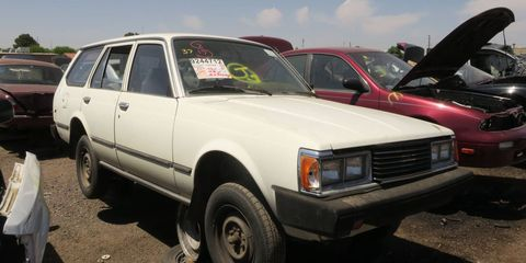 The last year for the Corona in the United States was 1982. After that, the Camry took its place.