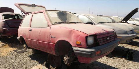 Before there was the Suzuki-built Geo Metro, there was the Suzuki-built Chevrolet Sprint.
