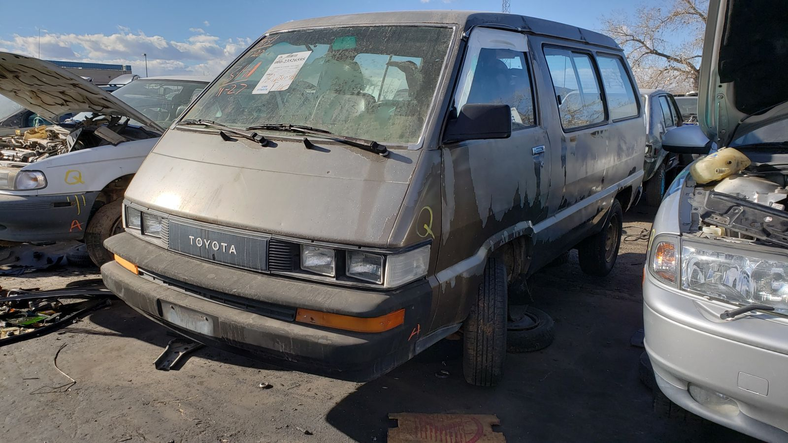 Junkyard Treasure: 1986 Toyota Van with manual transmissionAutoweek