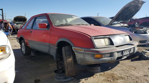 While it sold better than the Merkur Scorpio, the German-built XR4Ti was something of a sales disappointment in the United States.