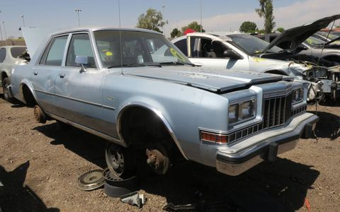 The rear-wheel-drive Diplomat survived well into Iacocca's K-Car era, but didn't quite make it to the 1990s.