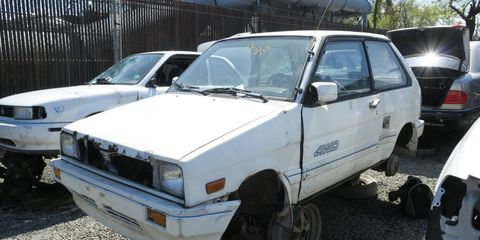 If you wanted a very cheap new econobox with four-wheel drive in 1988, this car was at the top of the list.