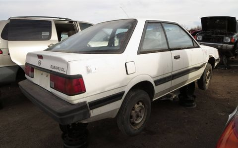 This was the cheapest (non-Justy) Subaru you could buy in 1989.
