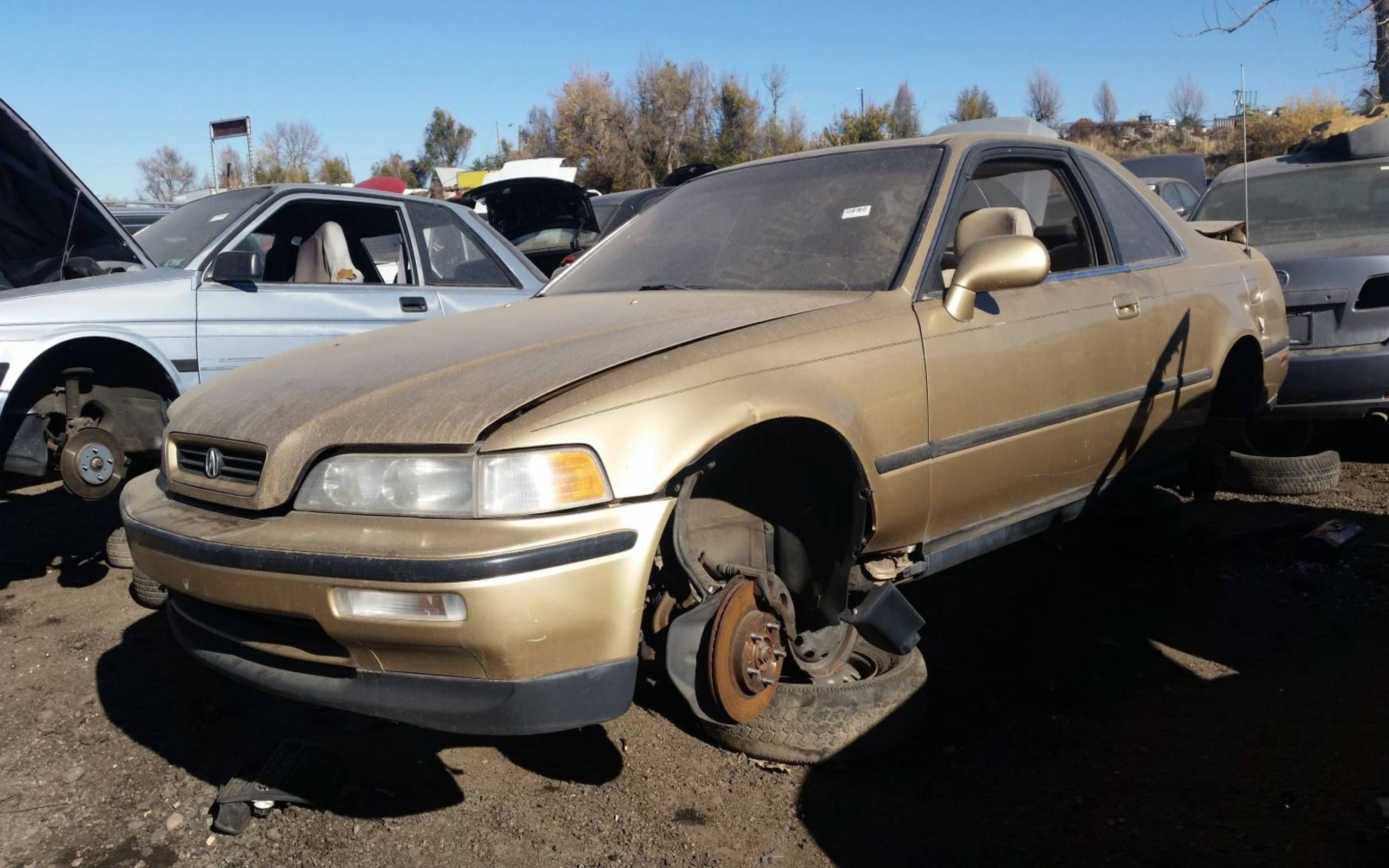 Junked 1991 Acura Legend Coupe