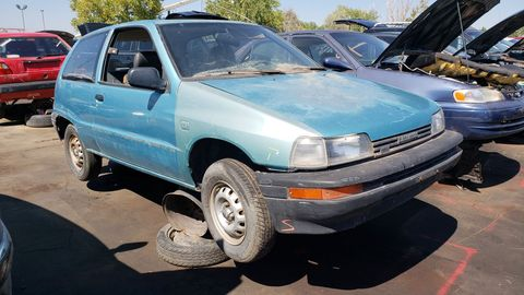 Daihatsu fled the United States after five years of selling (not many) Charades and Rockies over here, so you won't see many of these cars today.