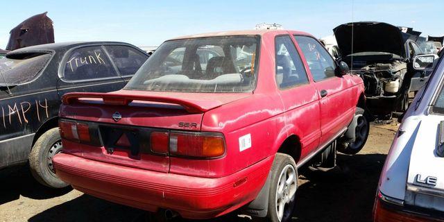 Junkyard Treasure 1991 Nissan Sentra Se R 1987 1990 nissan sentra 4 door. junkyard treasure 1991 nissan sentra se r