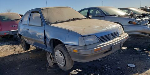 Known as the Daewoo LeMans in its South Korean homeland, the 1988-1993 Pontiac LeMans was known mostly for cheapness.
