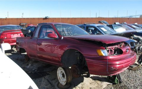 When you have a Taurus wagon but you want a pickup truck.