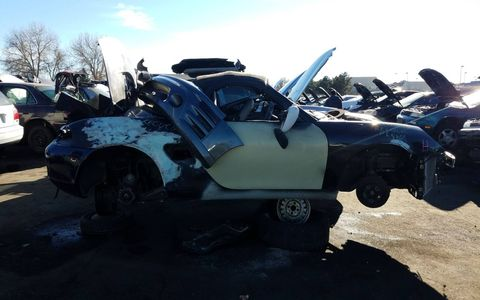 Like the BMW Z3, the Boxster is just beginning to show up in self-service wrecking yards.
