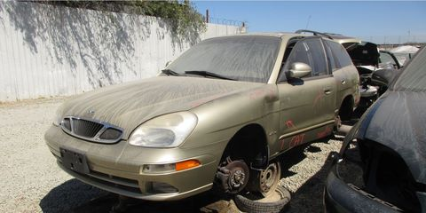 Remember the Daewoo Nubira wagon? Few do, but they existed for a few femtoseconds in the 2000s.
