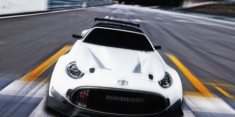 The S-FR Racing Concept was built by GAZOO Racing and will debut at the Tokyo Auto Salon in January