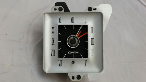 You could get a Cartier Edition Mark IV, but the Cartier clock could be had as an option in all the Continentals in 1976.