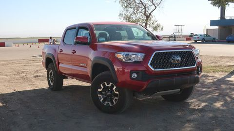 The 2018 Tacoma has grown as much since 1988 as the Camry and Corolla (or just about any car model) since that time.