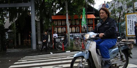 The Honda Super Cub has been taking care of business at Tokyo's Tsukiji Fish Market for nearly 60 years.