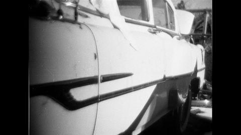 The same yard has a 1952 Pontiac sedan.