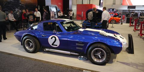 America's sports car was out in force at the SEMA show this year. Here are our favorites. This one's carrying the original Grand Sport look.
