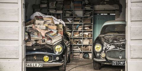 Just two of the gems in this collection: a Ferrari 250 GT SWB California Spyder and a Maserati A6G 2000 by Frua.