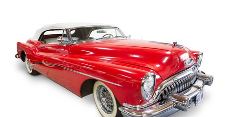 Rust never sleeps, true, but you won't find any rust on these three cars from the collection of folk rocker Neil Young. All three are up for auction Saturday, Dec. 9 at Julien's Auctions in LA. This is Young's 1953 Buick Roadmaster Skylark Convertible, estimated to sell for between $200,000 and $300,000.