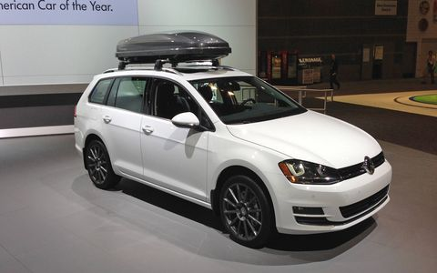The SportWagen will go on sale in April.