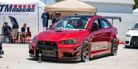 Is this the coolest EVO in the world? EVO enthusiasts said it was.