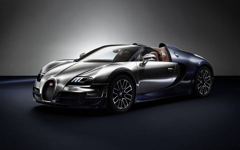 The Bugatti Legends comes to an end with the most legendary Bugatti.
