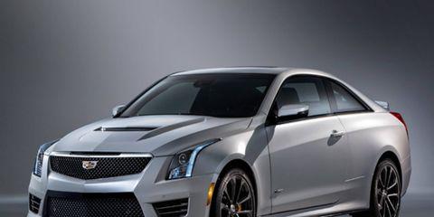 The 2016 Cadillac ATS-V gets a 450 hp turbocharged V6.