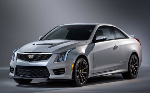 The 2016 Cadillac ATS-V gets a 450 hp turbocharged V6.