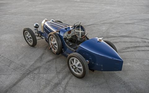the pur sang bugatti type 35 looks, drives and feels just like the real thing, but it's made in argentina instead of molsheim, france also, it's not as big a deal if you dent it we didn't dent it and for a brief moment in time we were louis chiron, though perhaps less successful