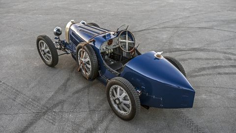The Pur Sang Bugatti Type 35 looks, drives and feels just like the real thing, but it's made in Argentina instead of Molsheim, France. Also, it's not as big a deal if you dent it. We didn't dent it and for a brief moment in time we were Louis Chiron, though perhaps less successful.