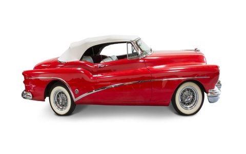 Young's 1953 Buick Roadmaster Skylark Convertible, estimated to sell for between $200,000 and $300,000