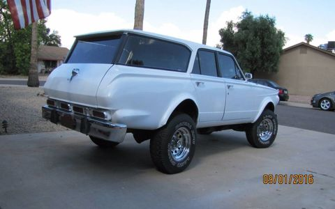 A 4x4 Valiant wagon would be good enough, but there's more.