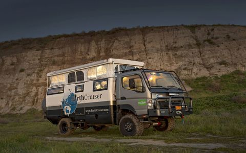 No hookups? No plug-in cable TV? No roads? Civilization ended? No problem, as long as you have a self-contained Earthcruiser! Price is a very reasonable (ha ha) $250,000.