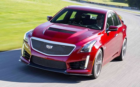 Every aspect of the CTS-V is made for performance. There's nothing cosmetic here.