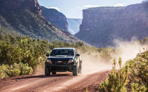 The off-road-ready Chevrolet Colorado ZR2 can launch off big jumps and land like a 747 on a pillow, but is also a capable rock crawler and even a comfortable daily driver, thanks to DSSV springs and shocks from Multimatic.