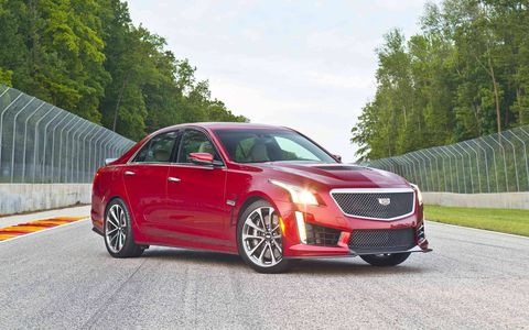 The CTS V out-spec-sheets the competition.