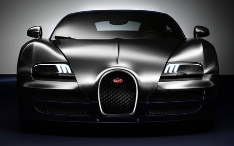 All Legends cars are based on the Bugatti Veyron 16.4 Grand Sport Vitesse.