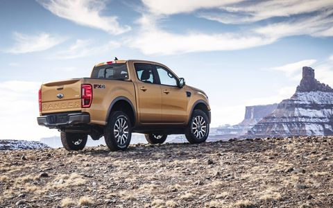 Ford's Ranger rejoins the North American lineup after its Detroit auto show debut.