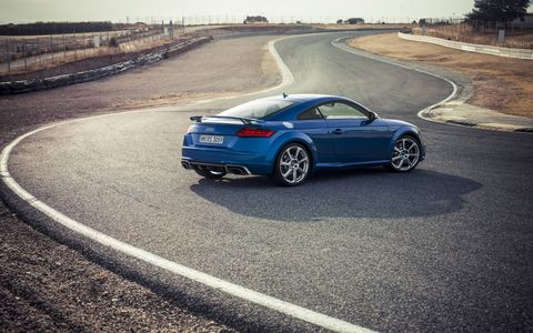 We drive the 2.5-liter I5-powered, Quattro all-wheel-drive-equipped 2017 Audi TT RS coupe.