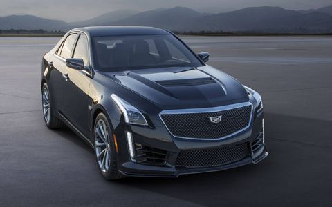 Cadillac felt a supercharged engine was the direction to go in the CTS-V, saying that as much as they love the turbo engine in the ATS-V, this car needed instant, smooth power.