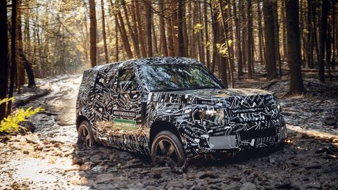The upcoming all-new Land Rover Defender will undergo testing in North America in 2019. It will go on sale in the United States and Canada in 2020.