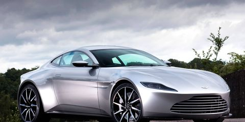 An Aston Martin DB10, one of just 10 produced.
