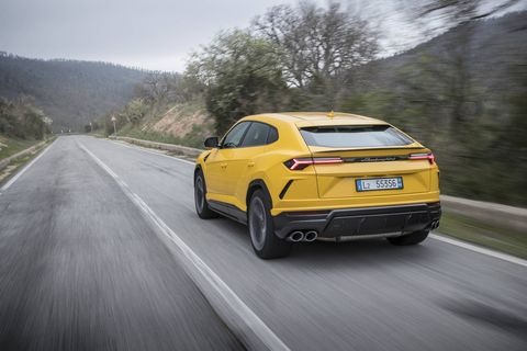 Lamborghini calls it its first Super Sport Utility Vehicle