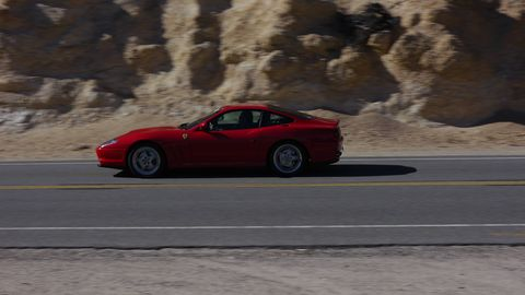The Ferrari Club of America Southwest Region does all kinds of fun things. Last Saturday they all drove over Angeles Crest Highway to Blackbird Air Park to check out the SR-71s.